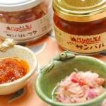 辛味調節の秘密は、この「タエちゃんサンバル」。バリでも稀少な生サンバルが味わえる。販売も。